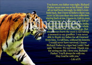 life of pi movie quote picture