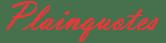 Plainquotes Logo
