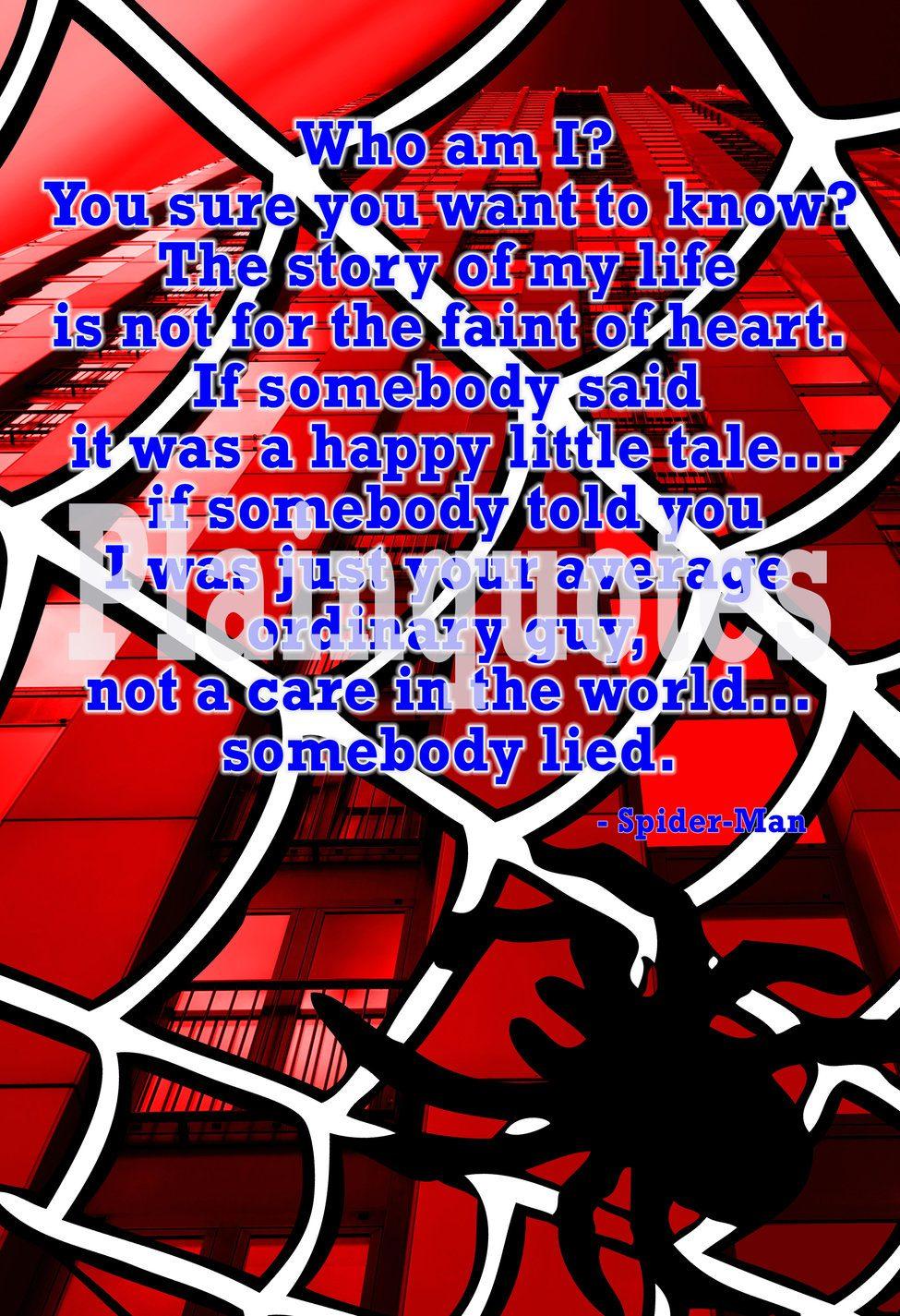 spider man quote
