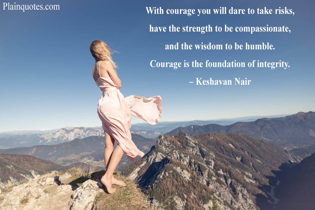 With Courage You Will Dare