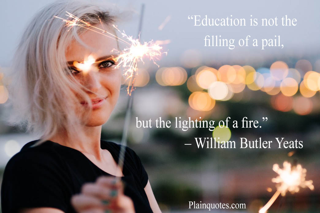 Education is not the filling