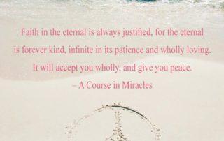 Faith In The Eternal Is