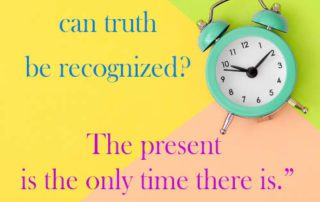 what Time But Now quote
