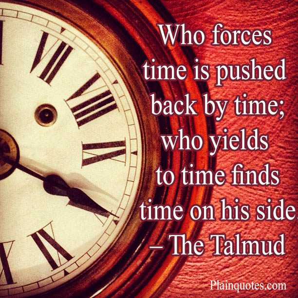 who forces time
