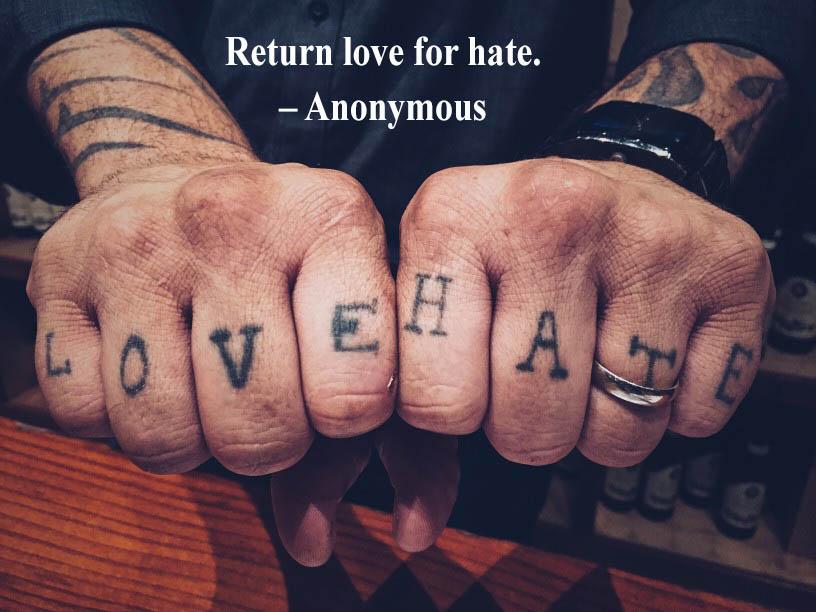 return Love For Hate