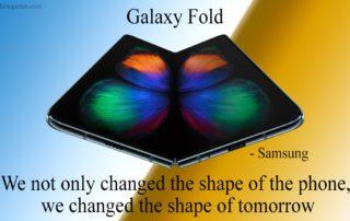galaxy fold quote