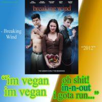 I'm vegan I'm vegan