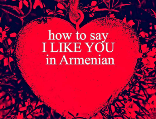 how to say I LIKE YOU IN ARMENIAN