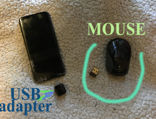 how to Connect Mouse to Phone