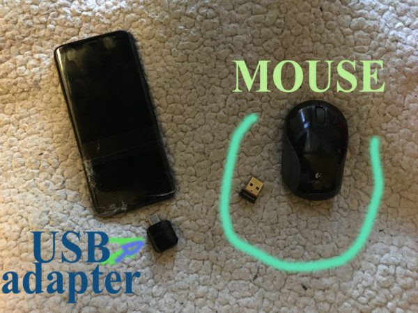 mouse to phone