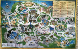 2007 seaworld map picture
