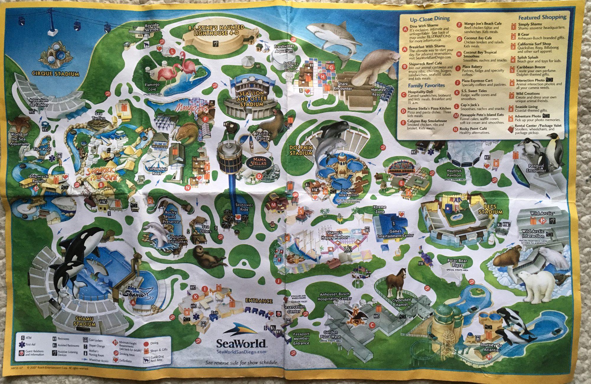 Seaworld Theme Park California Aquariums Seaworld San Diego