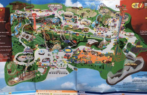 2016 Six Flags LA image