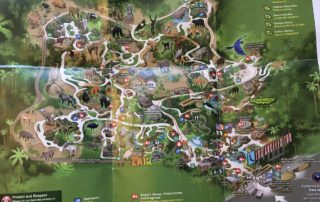 2019 LA Zoo Map image