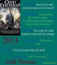 odd Thomas quote picture