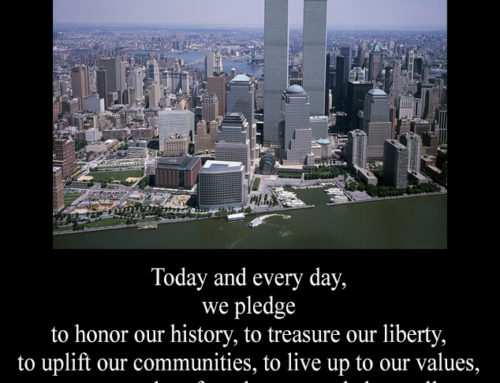 Today and every day, we pledge to honor our history