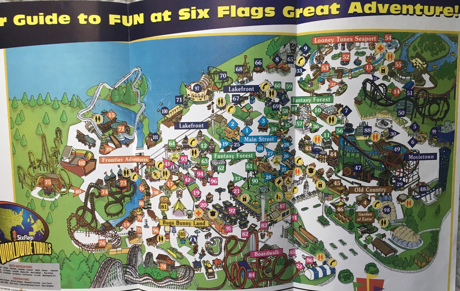 2001 Six Flags New Jersey 2