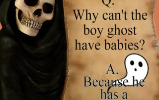 Why can't the boy ghost have babies?