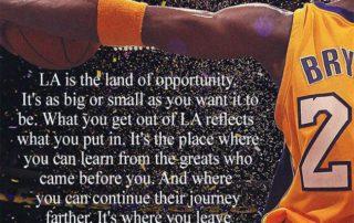Kobe Bryant Legacy quote