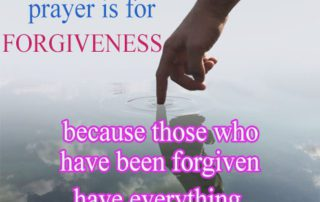 the Only Meaningful Prayer