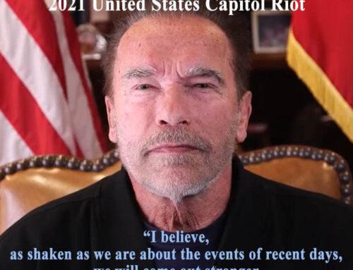 Arnold Schwarzenegger speech on the 2021 United States Capitol Riot