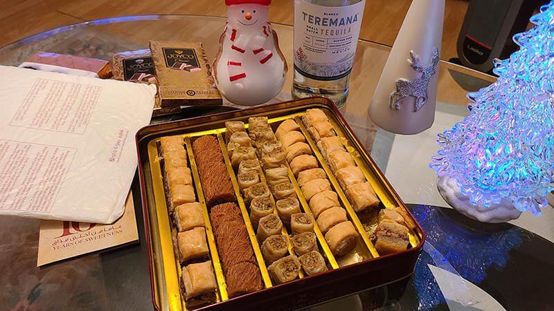 Zalatimo sweets baklava