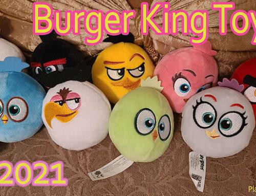 2021 Burger King King Jr. Toys