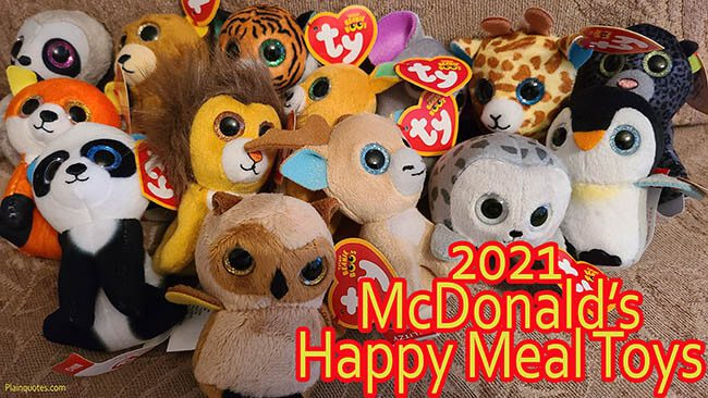 McDonald's 2021 Happy Meal Toys